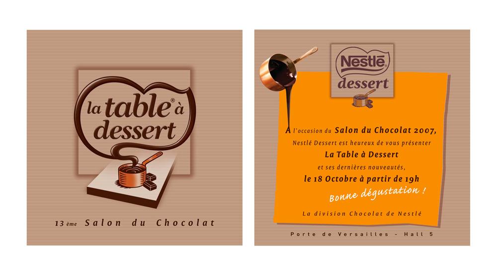 Nestl - Invitation gratuite salon du chocolat ...